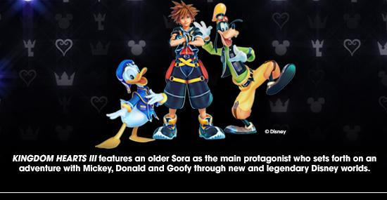 Kingdom Hearts III characters
