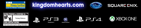 Kingdom Hearts III Video Game ESRB
