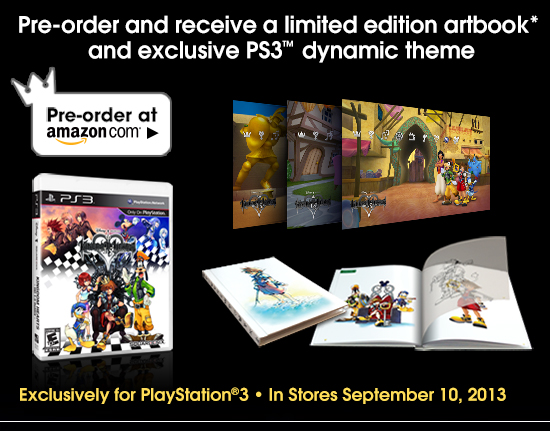 Pre-order and receive a limited edition artbook and exclusive PS3™ dynamic theme